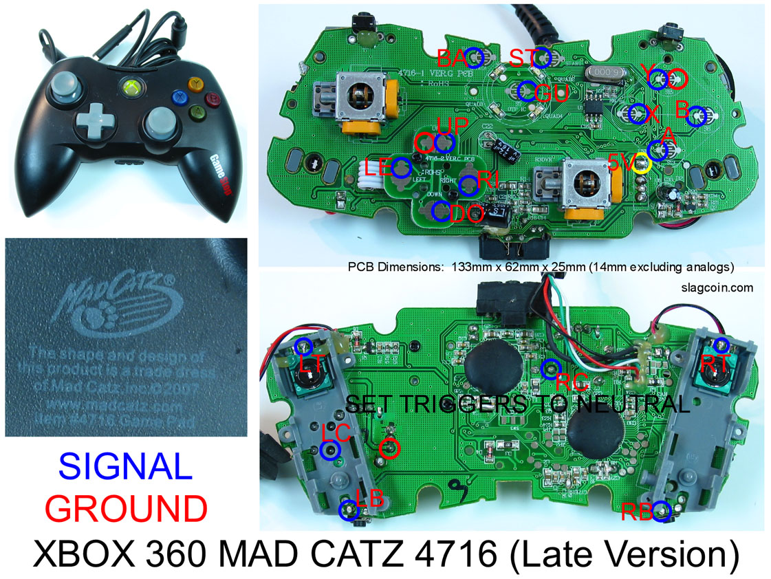 xbox 360 controller hack tutorial wireless hack now available!!! xbox 360 controller guide slagcoin com joystick pcb_diagrams 360_diagram3 jpg