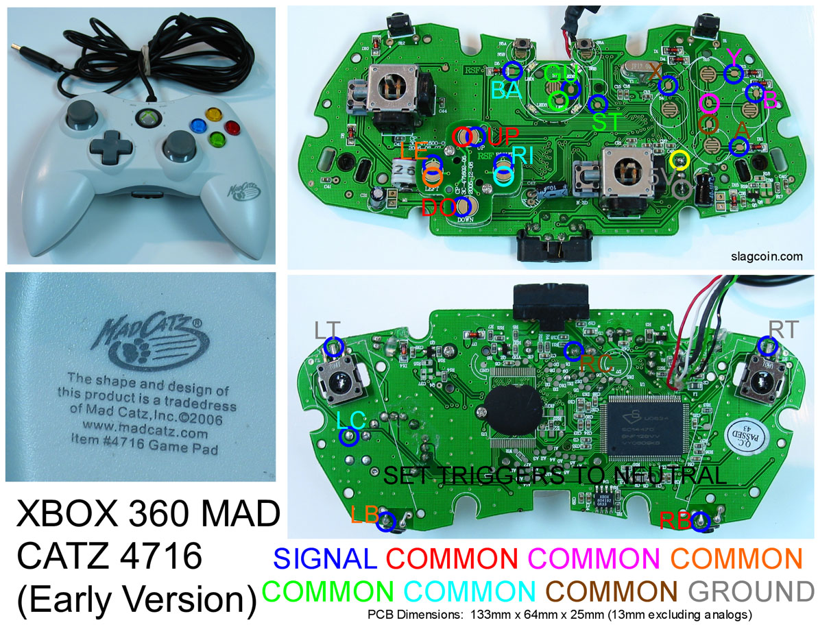 360_diagram4 the definitive pcb characteristics thread shoryuken Wired PS4 Controller at bakdesigns.co