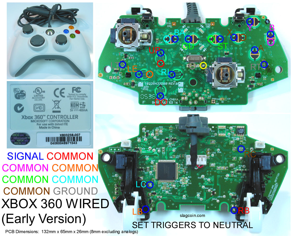 The Padhacking Thread Tech Talk Shoryuken Forums Micro Switch Wiring Diagram In Addition Ps2 Controller