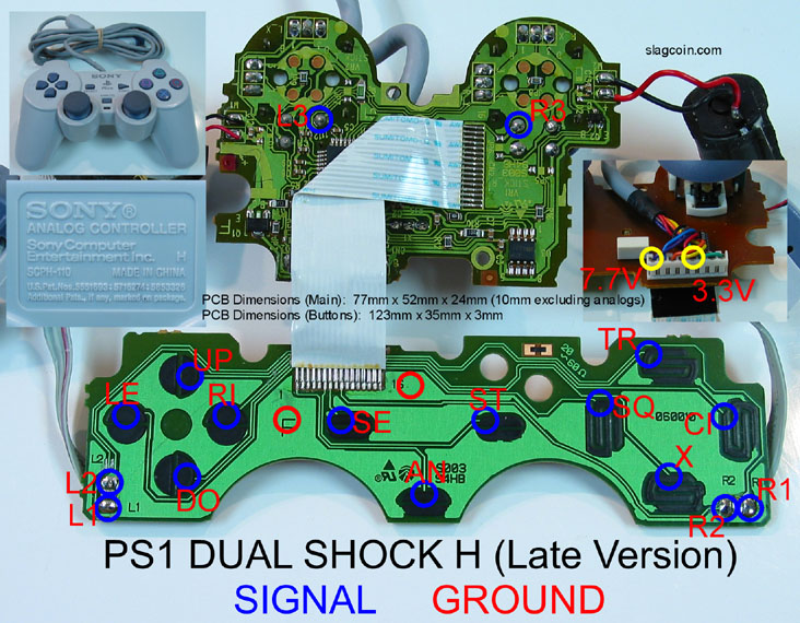 ps1_diagram9 super nintendo controller wiring diagram sega genesis controller sega genesis controller wire diagram at gsmportal.co